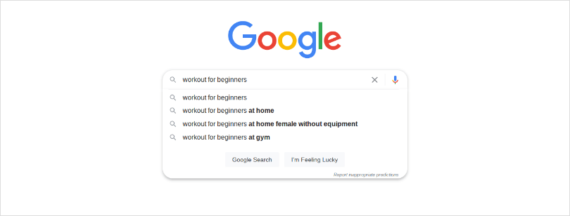 Google Autocomplete and Related Search Features