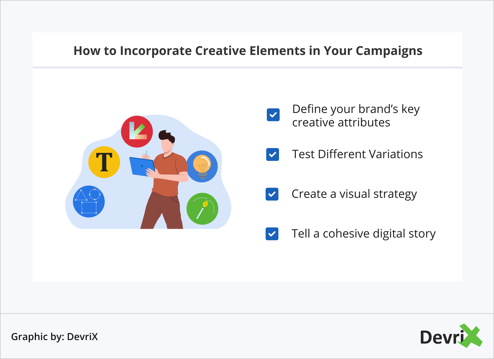 How to Incorporate Creative Elements in Your Campaigns
