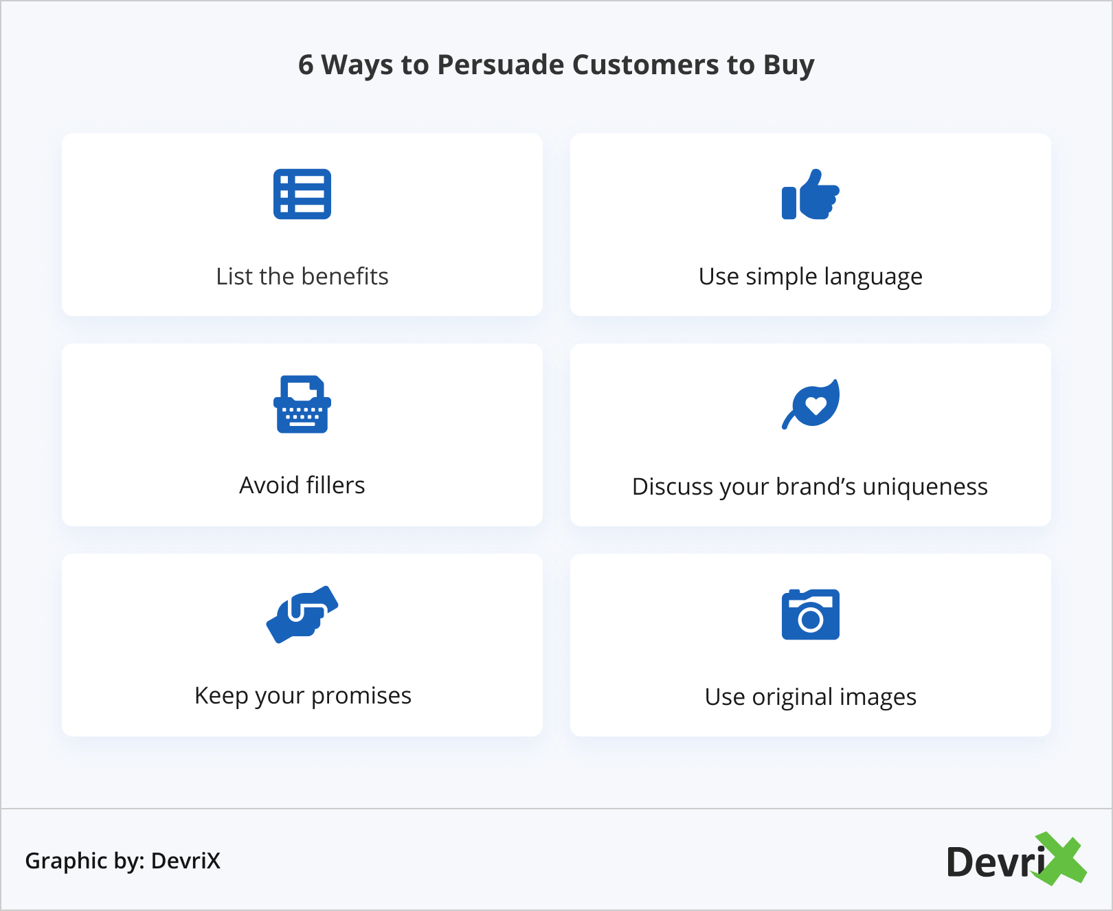6 Ways to Persuade Customers to Buy