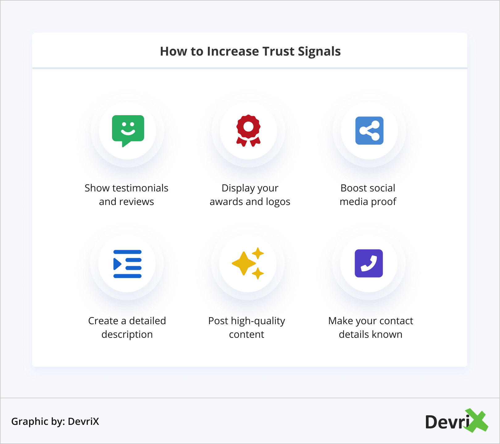 How to Increase Trust Signals