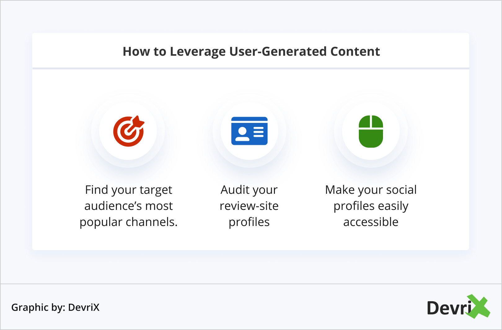 How to Leverage User-Generated Content