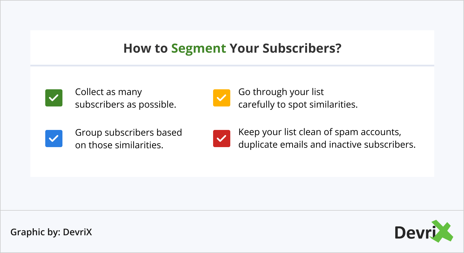 How to Segment Your Subscribers_