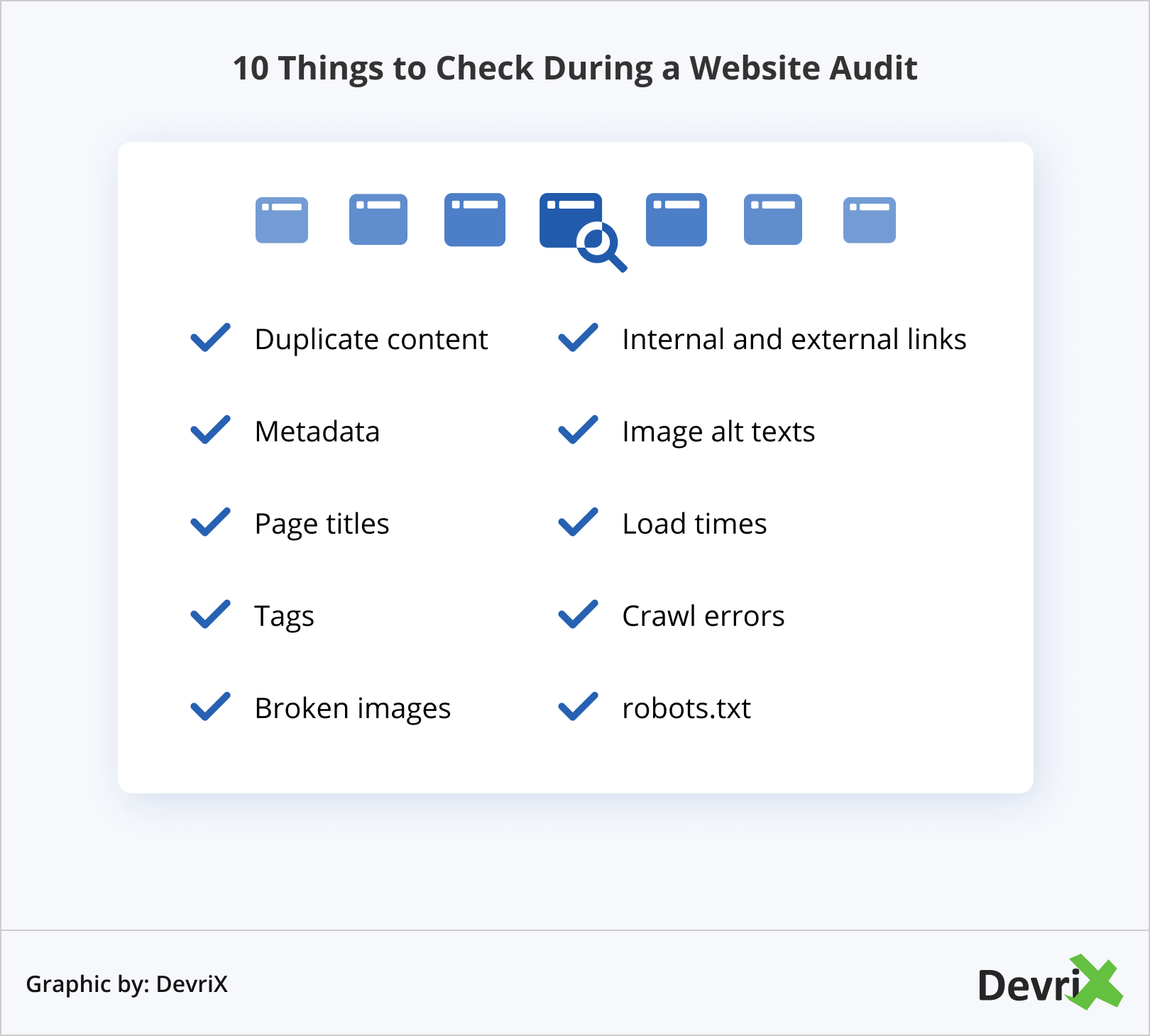 10 Things to Check During a Website Audit