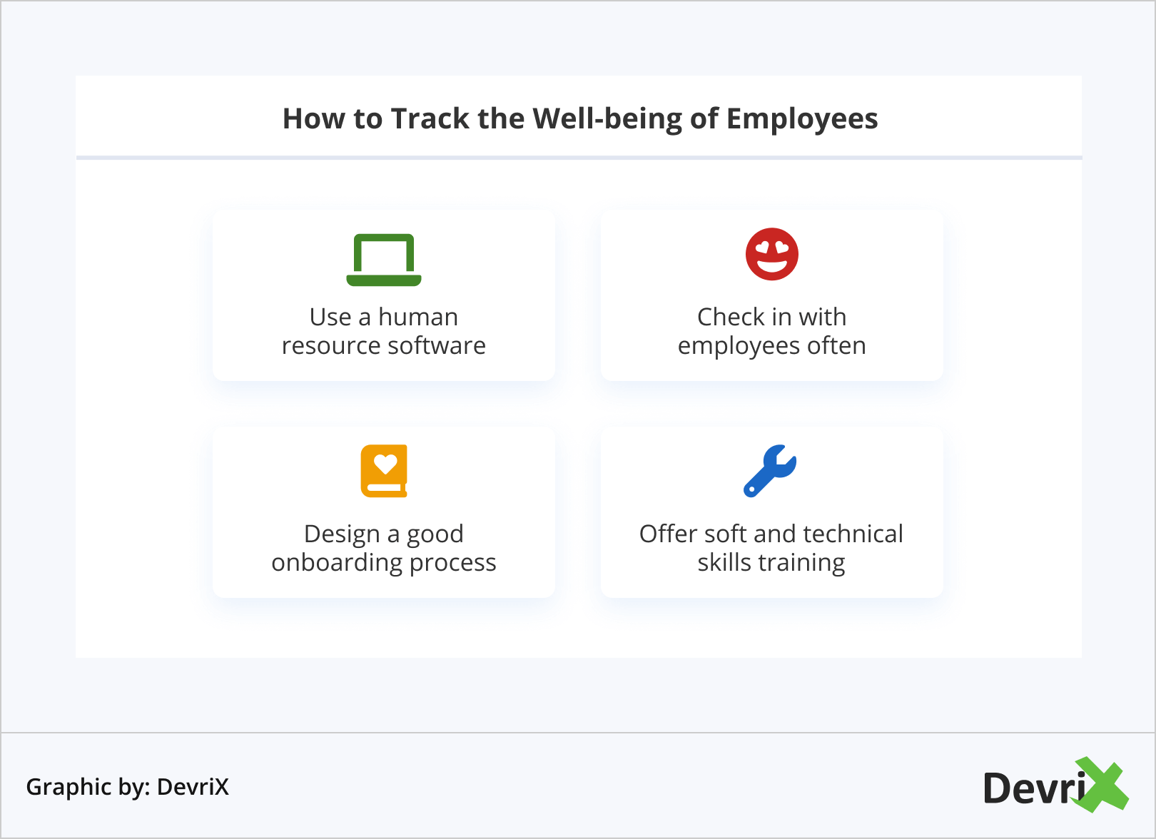 How to Track the Well-being of Employees